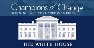 "White House Honors Veteran Entrepreneur ""Champions of Change"""
