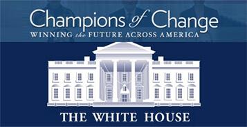 """White House Honors Veteran Entrepreneur """"Champions of Change"""""""