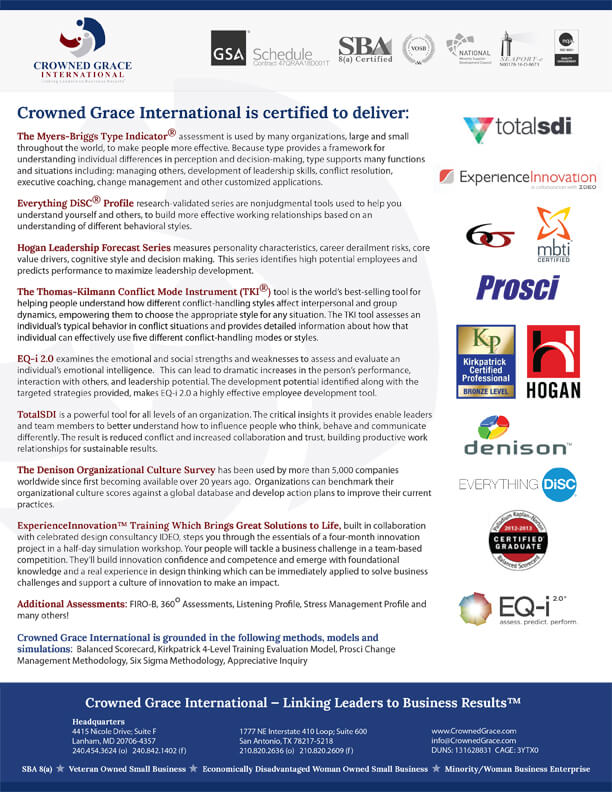 Click here to download our certifications